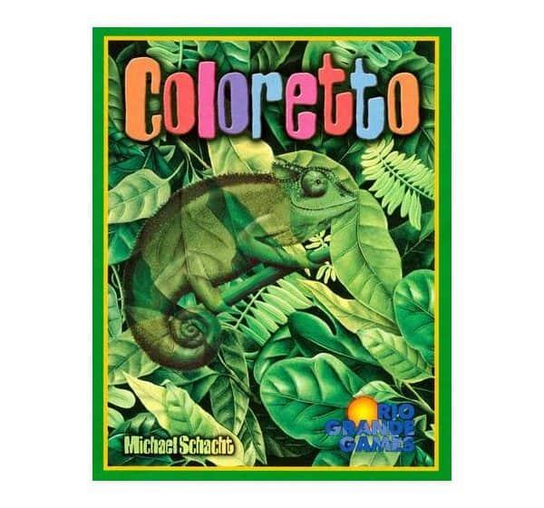 Michael Schacht zijn Coloretto