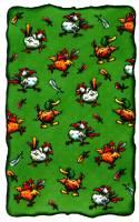 De dierenkaart bij het spel Au backe!
