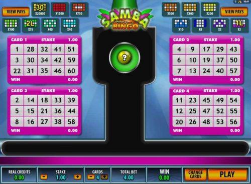 Speel nu Samba Bingo
